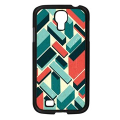 German Synth Stock Music Plaid Samsung Galaxy S4 I9500/ I9505 Case (black) by Mariart
