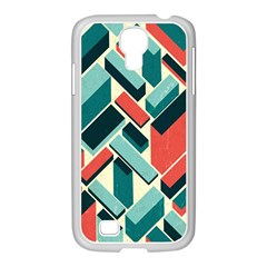 German Synth Stock Music Plaid Samsung Galaxy S4 I9500/ I9505 Case (white) by Mariart