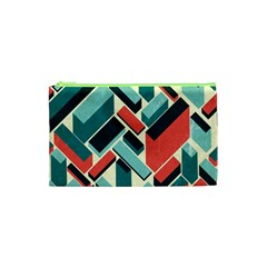 German Synth Stock Music Plaid Cosmetic Bag (xs) by Mariart