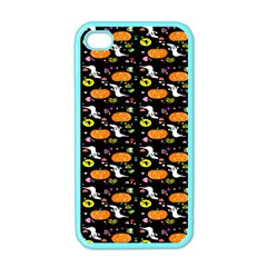 Ghost Pumkin Craft Halloween Hearts Apple Iphone 4 Case (color) by Mariart