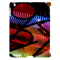 Graphic Shapes Experimental Rainbow Color Apple Ipad 3/4 Hardshell Case (compatible With Smart Cover) by Mariart