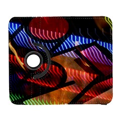 Graphic Shapes Experimental Rainbow Color Galaxy S3 (flip/folio) by Mariart