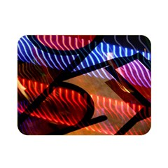 Graphic Shapes Experimental Rainbow Color Double Sided Flano Blanket (mini)  by Mariart