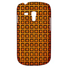 Halloween Squares Plaid Orange Galaxy S3 Mini