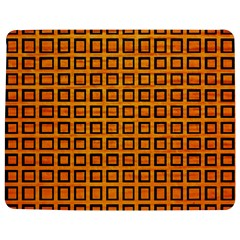 Halloween Squares Plaid Orange Jigsaw Puzzle Photo Stand (rectangular) by Mariart