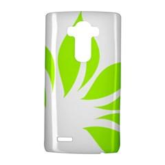 Leaf Green White Lg G4 Hardshell Case by Mariart