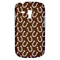 Horse Shoes Iron White Brown Galaxy S3 Mini by Mariart
