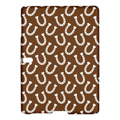 Horse Shoes Iron White Brown Samsung Galaxy Tab S (10 5 ) Hardshell Case  by Mariart