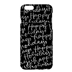 Happy Holidays Apple Iphone 6 Plus/6s Plus Hardshell Case by Mariart