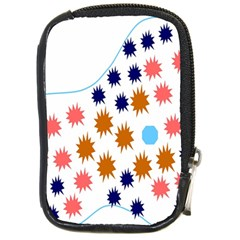 Island Top View Good Plaid Spot Star Compact Camera Cases by Mariart