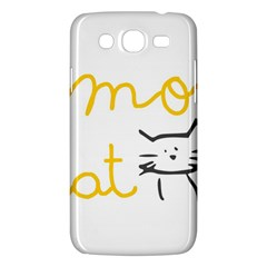 Lemon Animals Cat Orange Samsung Galaxy Mega 5 8 I9152 Hardshell Case  by Mariart