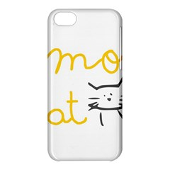 Lemon Animals Cat Orange Apple Iphone 5c Hardshell Case by Mariart