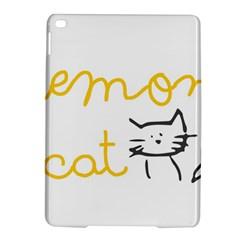 Lemon Animals Cat Orange Ipad Air 2 Hardshell Cases by Mariart
