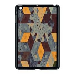 Apophysis Isometric Tessellation Orange Cube Fractal Triangle Apple Ipad Mini Case (black) by Mariart