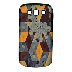 Apophysis Isometric Tessellation Orange Cube Fractal Triangle Samsung Galaxy S Iii Classic Hardshell Case (pc+silicone) by Mariart