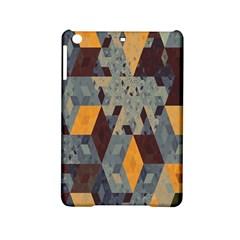 Apophysis Isometric Tessellation Orange Cube Fractal Triangle Ipad Mini 2 Hardshell Cases by Mariart