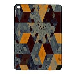 Apophysis Isometric Tessellation Orange Cube Fractal Triangle Ipad Air 2 Hardshell Cases by Mariart