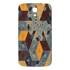 Apophysis Isometric Tessellation Orange Cube Fractal Triangle Samsung Galaxy Mega I9200 Hardshell Back Case by Mariart