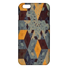 Apophysis Isometric Tessellation Orange Cube Fractal Triangle Iphone 6 Plus/6s Plus Tpu Case by Mariart