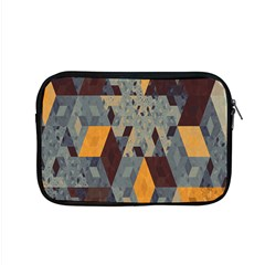 Apophysis Isometric Tessellation Orange Cube Fractal Triangle Apple Macbook Pro 15  Zipper Case by Mariart