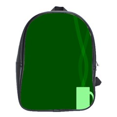 Mug Green Hot Tea Coffe School Bags(large)  by Mariart