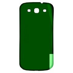 Mug Green Hot Tea Coffe Samsung Galaxy S3 S Iii Classic Hardshell Back Case by Mariart