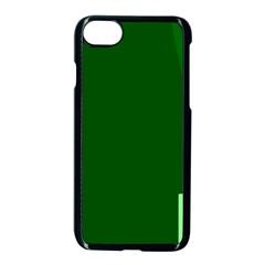 Mug Green Hot Tea Coffe Apple Iphone 7 Seamless Case (black) by Mariart
