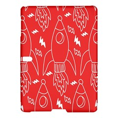 Moon Red Rocket Space Samsung Galaxy Tab S (10 5 ) Hardshell Case  by Mariart