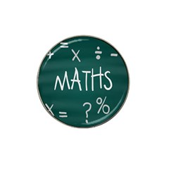 Maths School Multiplication Additional Shares Hat Clip Ball Marker by Mariart