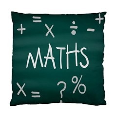 Maths School Multiplication Additional Shares Standard Cushion Case (two Sides) by Mariart