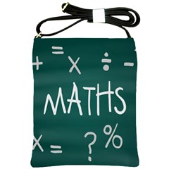 Maths School Multiplication Additional Shares Shoulder Sling Bags by Mariart