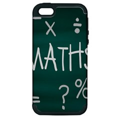 Maths School Multiplication Additional Shares Apple Iphone 5 Hardshell Case (pc+silicone) by Mariart