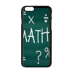 Maths School Multiplication Additional Shares Apple Iphone 6/6s Black Enamel Case by Mariart