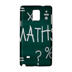 Maths School Multiplication Additional Shares Samsung Galaxy Note 4 Hardshell Case by Mariart
