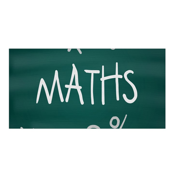 Maths School Multiplication Additional Shares Satin Shawl
