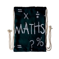 Maths School Multiplication Additional Shares Drawstring Bag (small) by Mariart