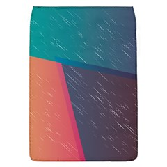 Modern Minimalist Abstract Colorful Vintage Adobe Illustrator Blue Red Orange Pink Purple Rainbow Flap Covers (l)  by Mariart