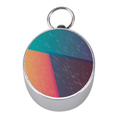 Modern Minimalist Abstract Colorful Vintage Adobe Illustrator Blue Red Orange Pink Purple Rainbow Mini Silver Compasses by Mariart