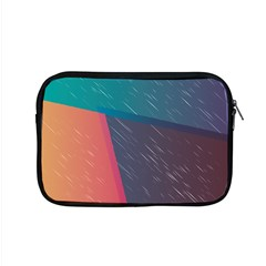 Modern Minimalist Abstract Colorful Vintage Adobe Illustrator Blue Red Orange Pink Purple Rainbow Apple Macbook Pro 15  Zipper Case by Mariart