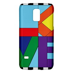 Rainbow Love Galaxy S5 Mini by Mariart