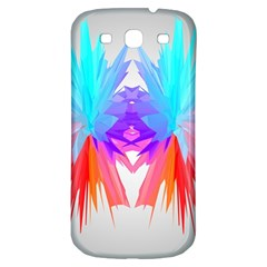 Poly Symmetry Spot Paint Rainbow Samsung Galaxy S3 S Iii Classic Hardshell Back Case by Mariart