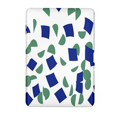 Scatter Geometric Brush Blue Gray Samsung Galaxy Tab 2 (10 1 ) P5100 Hardshell Case  by Mariart