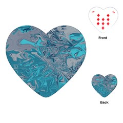 Colors Playing Cards (heart)  by Valentinaart