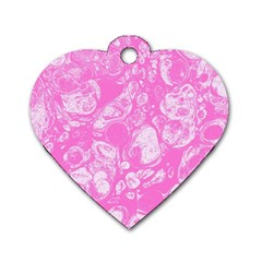 Colors Dog Tag Heart (one Side) by Valentinaart