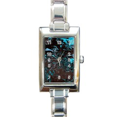 Colors Rectangle Italian Charm Watch by Valentinaart
