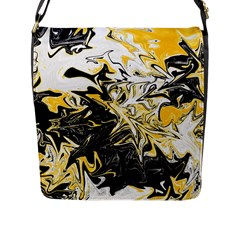 Colors Flap Messenger Bag (l)  by Valentinaart