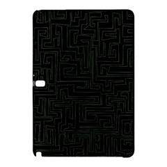 Pattern Samsung Galaxy Tab Pro 12 2 Hardshell Case by Valentinaart
