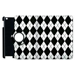 Plaid Pattern Apple Ipad 2 Flip 360 Case by Valentinaart