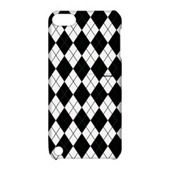 Plaid Pattern Apple Ipod Touch 5 Hardshell Case With Stand by Valentinaart