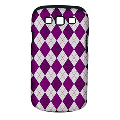 Plaid Pattern Samsung Galaxy S Iii Classic Hardshell Case (pc+silicone) by Valentinaart